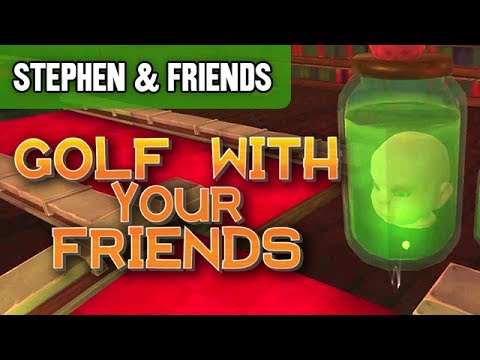 """Golf With Your Friends #3 - """"RANDOM SHAPES"""" (Stephen & Friends)"""