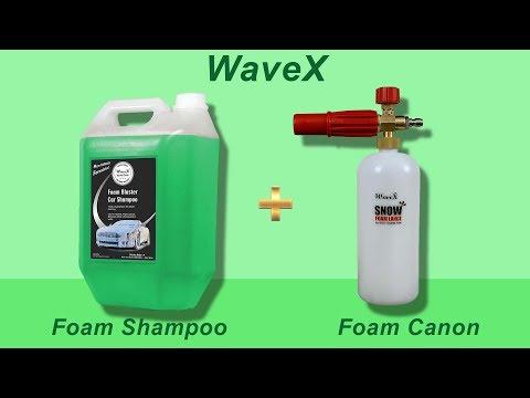 WaveX Foam Canon & Foam Blaster Shampoo Review