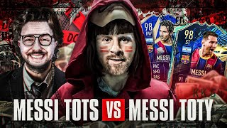 FIFA 21: MESSI TOTS vs MESSI TOTY Squad Builder Battle 🔥🔥
