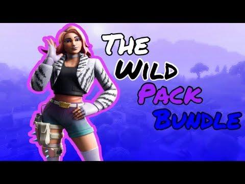 New Fortnite BattleRoyale Wild Pack bundle