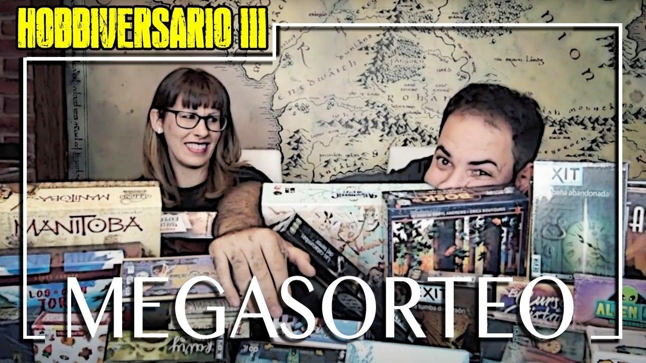 HOBBIVERSARIO 3 | MEGASORTEO!!! Y LOS GANADORES SON...