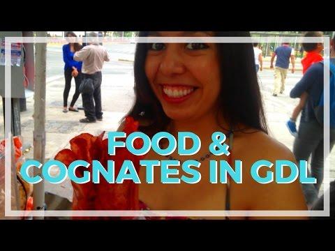 🌮 Food & Cognates in Guadalajara - Travel Spanish Vlog