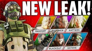 Apex Legends -  Huge Leak New Characters found & The Hot Zone