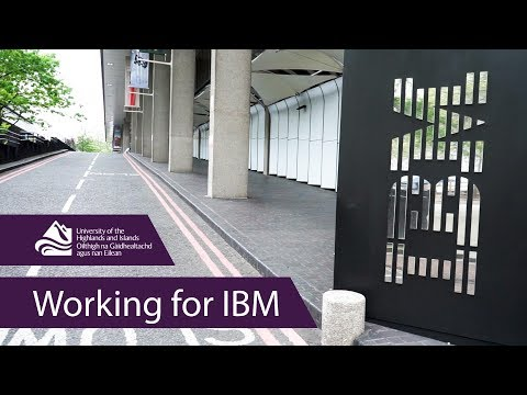 Working For IBM