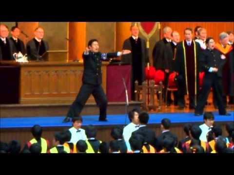 2015年3月早稲田大学院卒業式 校歌
