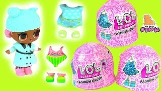 #LOL ОДЕВАЛКИ! FASHION CRUSH JELLY SURPRISE DRESS UP! Игры для Девочек с Май Тойс Пинк