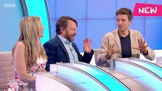 Greg James' four hour special baths on Would I Lie to You?