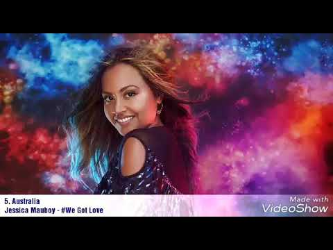 Eurovision Song Contest 2018 - My top 5