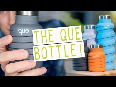 THE COLLAPSABLE WATER BOTTLE!