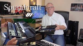 Keyboard Zubehör #7 - Soundcraft Ui 12 - Digitales Mischpult