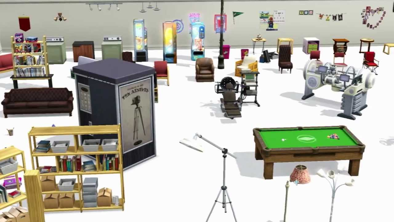 Sims 3 University What New Items Do You Get Youtube