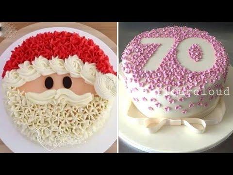 How To Make Chocolate Cake With Milk Cream Recipes   So Yummy Cake Decorating Tutorials