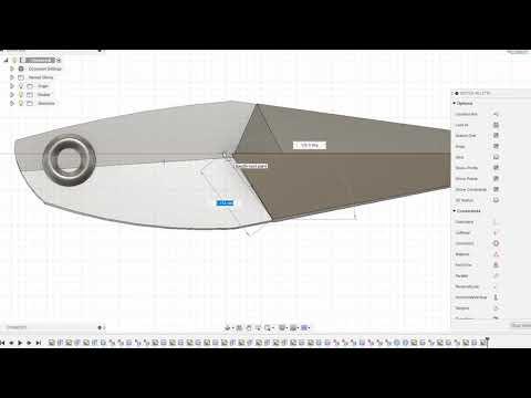 3D modelling fast forward - Shinobi Series Kunai 40g  Fishing Jig