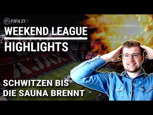 SCHWITZEN BIS DIE SAUNA PLATZT - WEEKEND LEAGUE HIGHLIGHTS #001