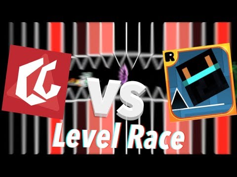 ChrisCredible Vs. Razing717 - A Race Of The Century | Geometry Dash