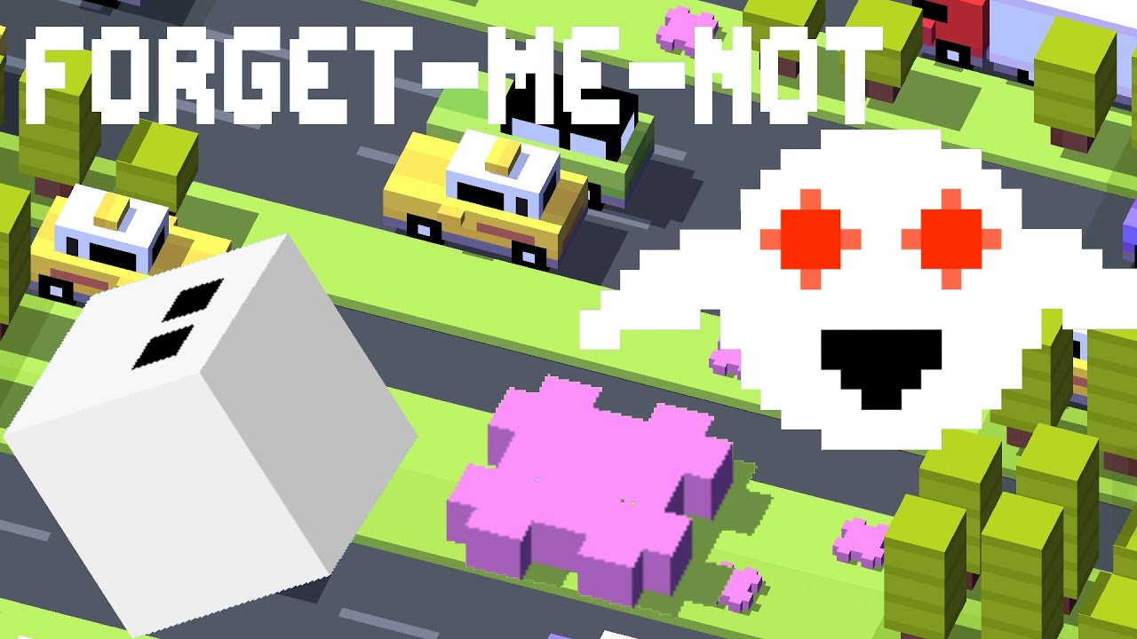 CROSSY ROAD Forget-Me-Not Ghost! | Collect 20 Flowers ...