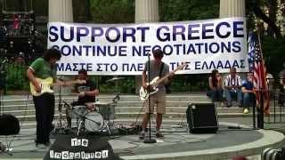 Νέα Υόρκη: Η συγκέντρωση συμπαράστασης των Ελλήνων της Διασποράς