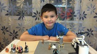 Самоделка Лего Звездные войны - Война клонов