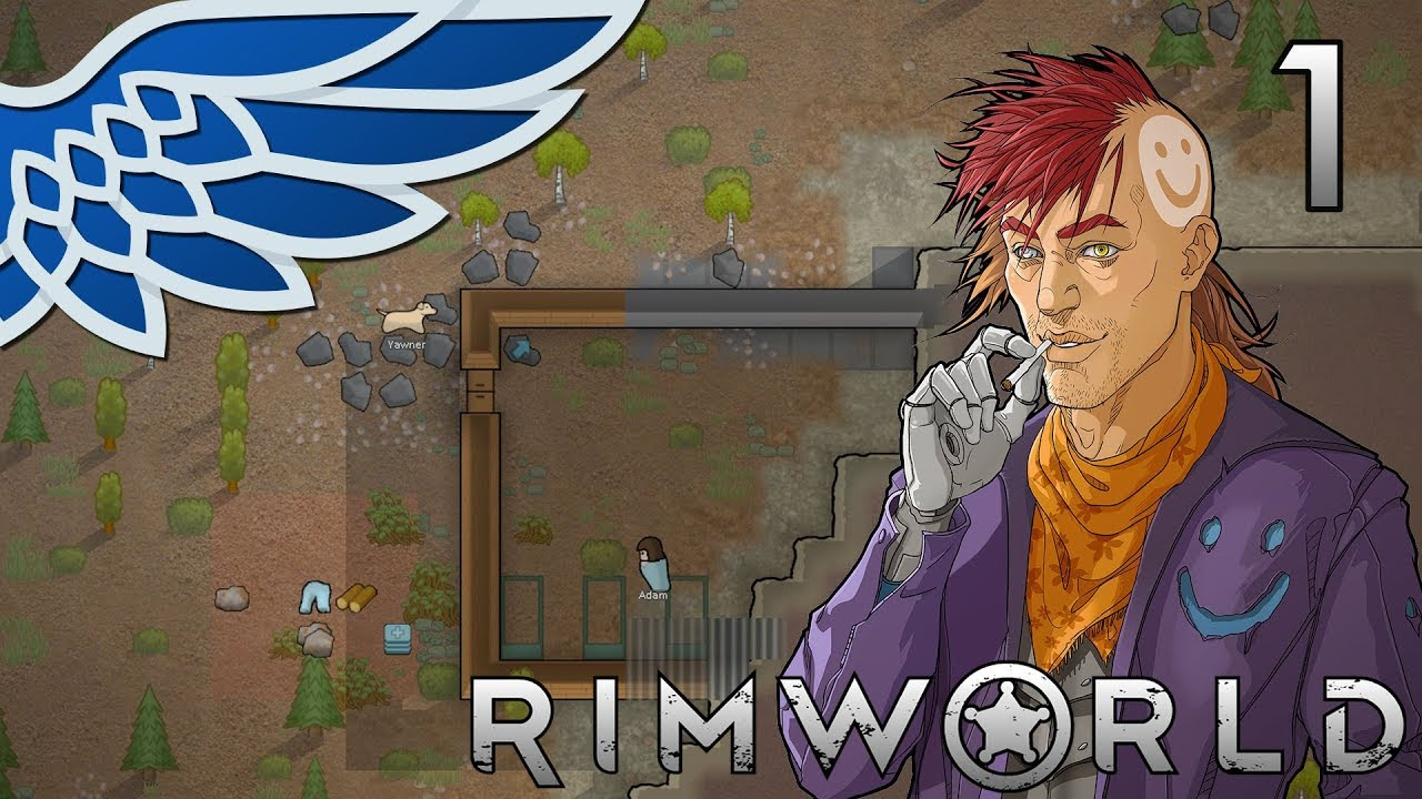 RIMWORLD 1 0 | Crashlanded Again Part 1 - Rimworld Release Let's Play  Gameplay