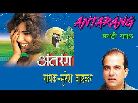 Antarang - Marathi Gazal By Suresh Wadkar || Marathi Super Hit Gazals