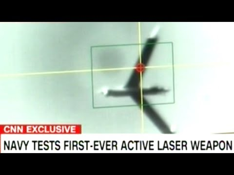 Video Shows New Military Laser Weapon Test!
