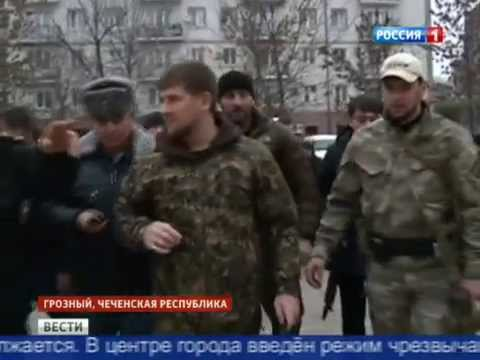 Спецоперация в Грозном.
