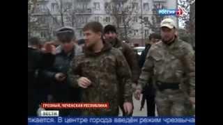 Спецоперация в Грозном. Эксклюзивные кадры