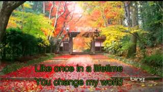 I lay my love on you (karaoke beat)