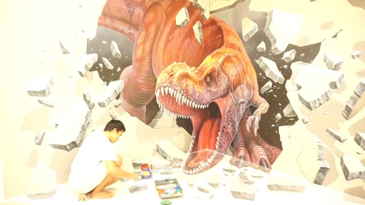 Jogja Painting Jasa Mural 3D Trick Art Lukis Dinding