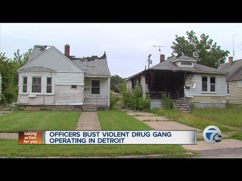 Officers bust violent drug gang operating in Detroit