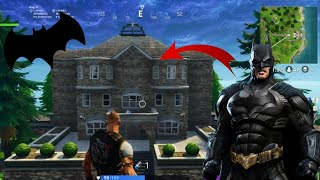 THE SECRET HQ of BATMAN IN FORTNITE!