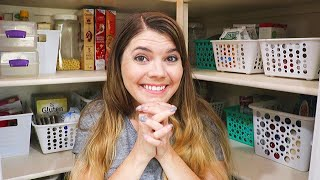 DOLLAR TREE PANTRY ORGANIZATION // CLEANING MOTIVATION // CLEANING MOM