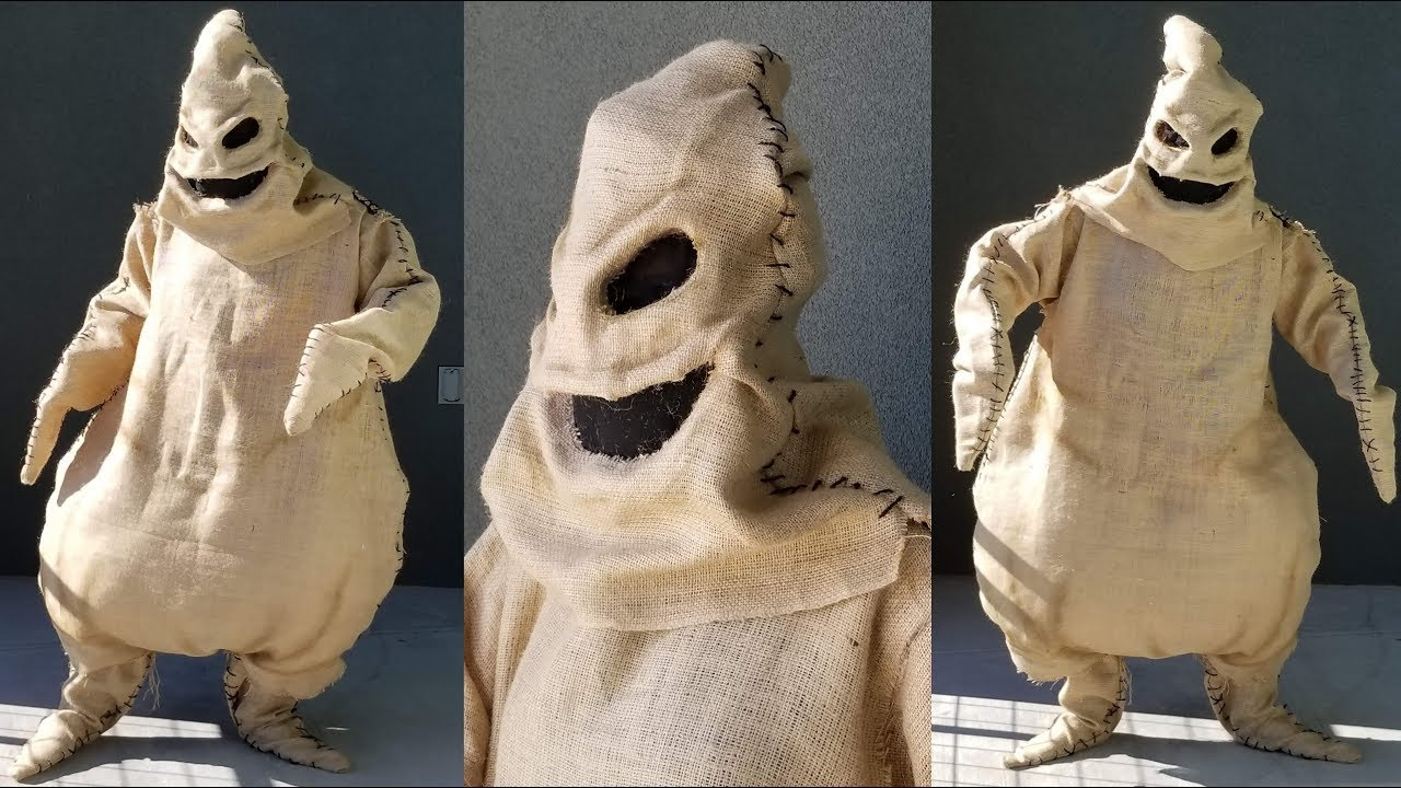 Oogie Boogie Costume Tutorial No Sew Halloween Costume Youtube Oogie boogie was never attempting murder, he was succeeding at convincing people he was going to kill … following. oogie boogie costume tutorial no sew halloween costume