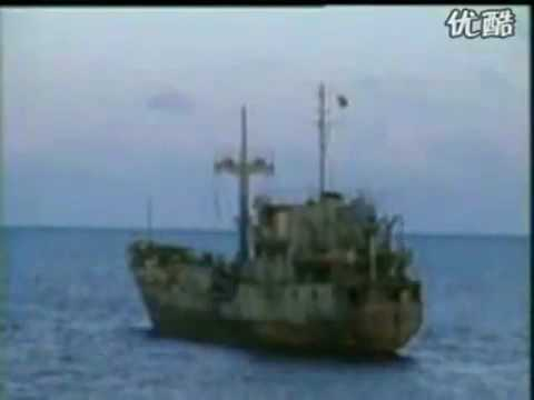 China invaded Spratly islands of Vietnam real footage 1988