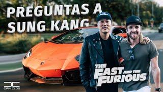 MEETING SUNG KANG WITH MY AVENTADOR from BEVERLY HILLS
