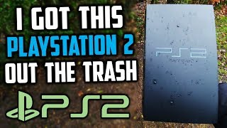 I Got This PS2 Out The Trash!! Does It Work!?
