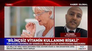 2020-12-16 - TEİS - HaberGlobal - Bilinçsiz Vitamin Kullanımı - Ecz Ali Erdem
