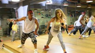 Zumba fitness with Karima Gaafar (Boogy Dance song)