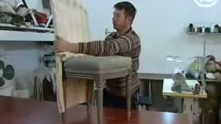 Ремонт мягкой мебели своими руками(Ремонт мягкой мебели своими руками, перетяжка и обивка мебели. Пошив чехлов для мягкой мебели, ремонт стуль..., 2012-01-10T17:39:52.000Z)