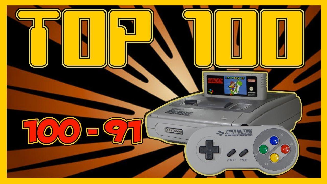 Top 100 Mejores Juegos De Super Nintendo Snes De La Historia Por