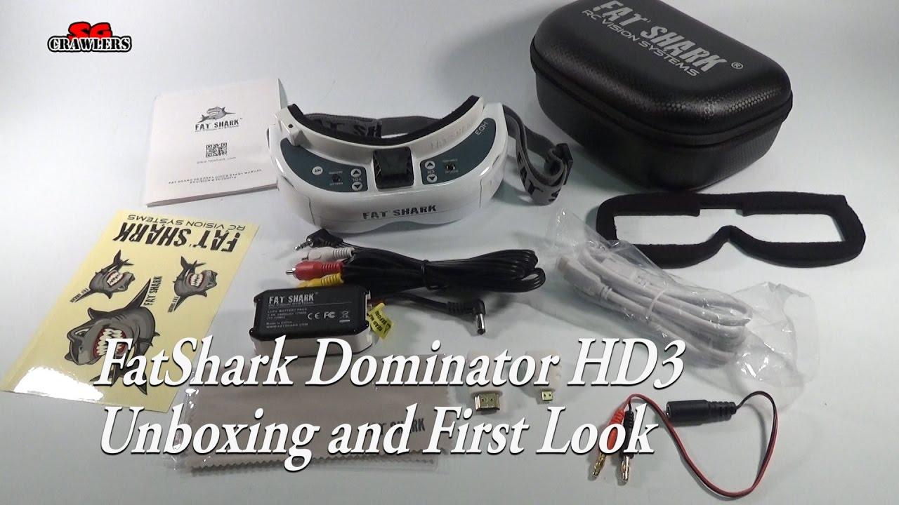 Fatshark Dominator Video Glasses