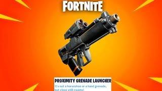Fortnite New Grenade Launcher Update + We Hit 300,000 Subscribers! (Fortnite New Update)