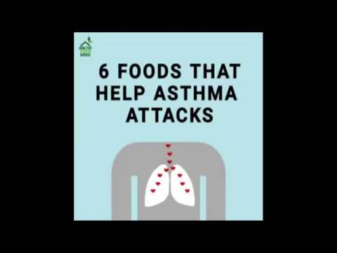 TOP 6 FOODS THAT HELP ASTHMA ATTACKS