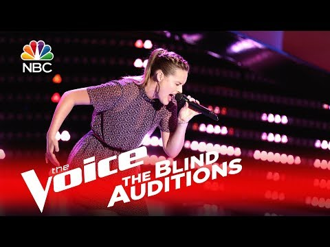 Hannah Huston - Unaware (The Voice Blind Audition 2016)