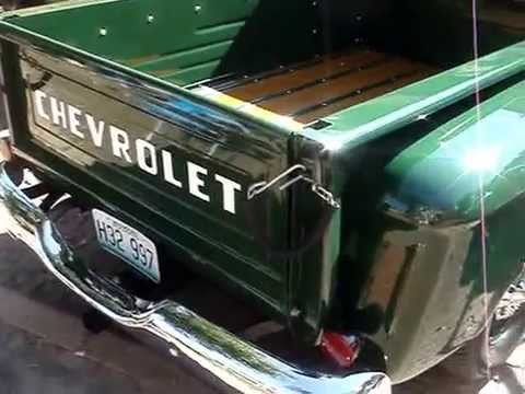 46 Chevy Pickup 1961 CHEVY APACHE 10 PICKUP - STEPSIDE VERSION - YouTube