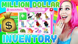 SUPER RICH INVENTORY! Over 1000 Pets! Roblox Adopt Me Backpack Update