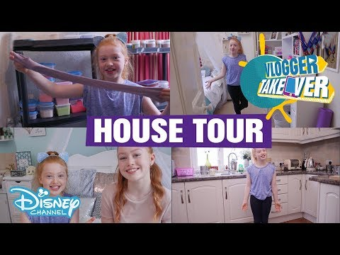 Vlogger Takeover | House Tour - Ruby Rose UK | Disney Channel UK