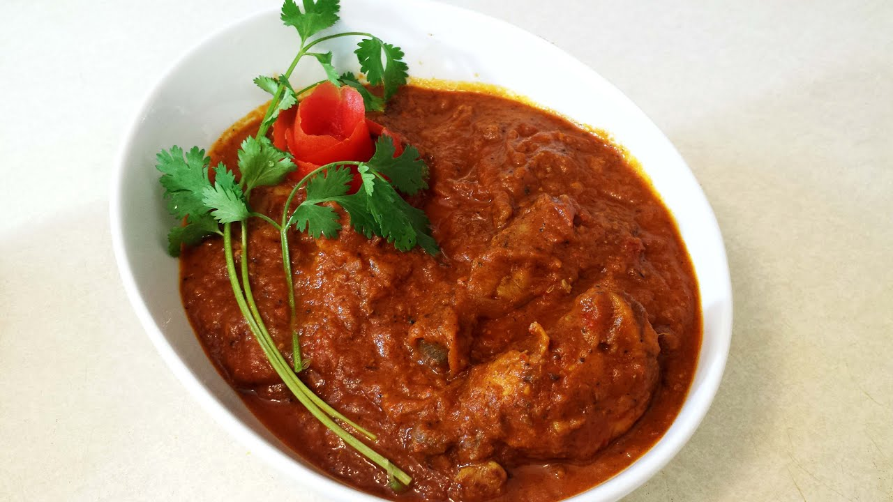 Tomato Chicken| Chicken Curry with Tomato Gravy| Indian ...