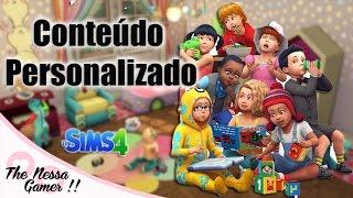 DOWNLOAD CONTEÚDO PERSONALIZADO PARA BEBÊS THE SIMS 4 / THE NESSA GAMER