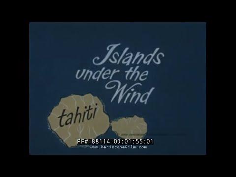1960s PAN AM AIRLINES  TAHITI TRAVELOGUE MOVIE   PAPEETE  88114